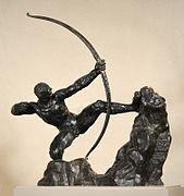 169px-Heraklès_archer_-_Bourdelle_(profil)